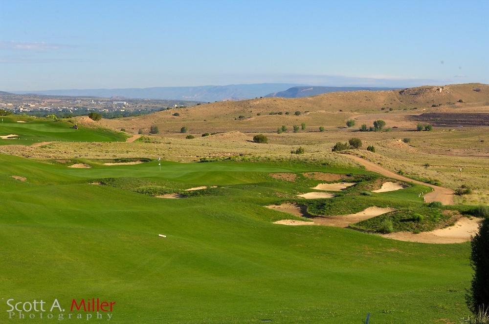 Espanola, N.M.:  July 10, 2006 -  No. 6 on Black Mesa Golf Club in Espanola, N.M...                ©2006 Scott A. Miller