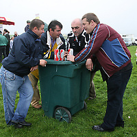 Damien Mullin, Eddie Sweeny, Seamus Donnehy and Brian Faulkner enjoying the craicat the annual Lisdoonvarna Races at the weekend.<br />