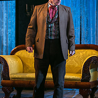 Ivanov by Anton Chekhov;<br /> New version by David Hare;<br /> Directed by Jonathan Kent;<br /> Des McAleer (as Mikhail Borkin);<br /> Chichester Festival Theatre, Chichester, UK;<br /> 14 October 2015.