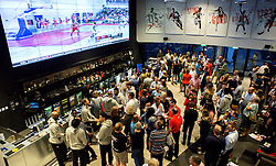 Guests mingle at the Bristol Flyers Sponsor event at The Sports Bar at Ashton Gate - Mandatory by-line: Robbie Stephenson/JMP - 12/09/2016 - BASKETBALL - Ashton Gate Stadium - Bristol, England - Bristol Flyers Sponsors Event