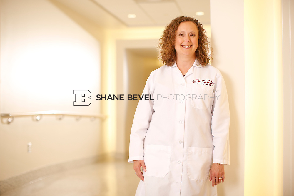 5/28/15 4:18:05 PM -- Dr. Renee Frenier of Saint Francis Health System poses for a portrait for the 2015 Advertising Campaign. <br /> <br /> Photo by Shane Bevel