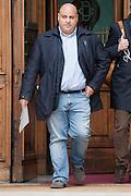 2013/03/29 Roma, politici in Piazza Montecitorio. Nella foto Nico Stumpo.<br /> Rome, politicians in Montecitorio Square. In the picture Nico Stumpo - &copy; PIERPAOLO SCAVUZZO