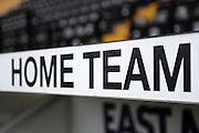 Home team during the Sky Bet League 2 match between Notts County and Leyton Orient at Meadow Lane, Nottingham, England on 20 February 2016. Photo by Jon Hobley.
