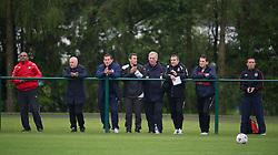 CARDIFF, WALES - Saturday, May 19, 2012: Coaches during an FAW Coaching course at the Glamorgan Sports Park. (Pic by David Rawcliffe/Propaganda)