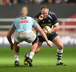 Ross McMillan, hooker for Bristol Rugby - Mandatory by-line: Paul Knight/JMP - Mobile: 07966 386802 - 11/12/2015 -  RUGBY - Ashton Gate Stadium - Bristol, England -  Bristol Rugby v Bedford Blues - British and Irish Cup