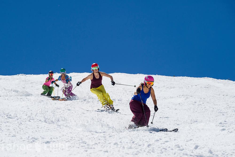 Mt. Rose spring skiing.