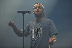 File photo - Mac Miller performs during the annual AIDS charity and fundraising Music Festival Solidays, held at Longchamp racetrack in Paris, France, on June 23, 2017. Mac Miller has been found dead at his California home, a Los Angeles coroner has confirmed. Media reports say the 26-year-old, who was open about his substance abuse, died from an apparent overdose. The rapper, whose real name was Malcolm James McCormick, rose to fame after topping US charts with his debut album in 2011. Photo by Robin Psaila/ABACAPRESS.COM