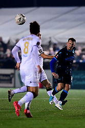 Ollie Clarke of Bristol Rovers is marked by Frankie Raymond of Bromley - Mandatory by-line: Ryan Hiscott/JMP - 19/11/2019 - FOOTBALL - Hayes Lane - Bromley, England - Bromley v Bristol Rovers - Emirates FA Cup first round replay