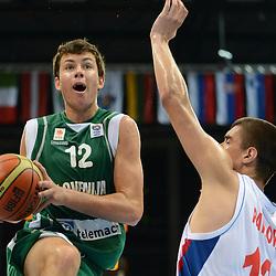 20120721: LTU, Basketball - U16 European Championship Men, Division A, Srbija vs Slovenia