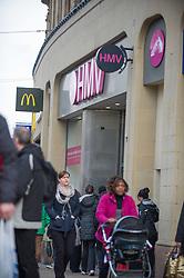 HMV store. the Fargate, Sheffield