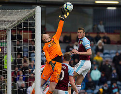 Wayne Hennessey of Crystal Palace saves - Mandatory by-line: Jack Phillips/JMP - 02/03/2019 - FOOTBALL - Turf Moor - Burnley, England - Burnley v Crystal Palace - English Premier League