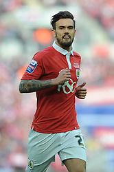 Bristol City's Marlon Pack - Photo mandatory by-line: Dougie Allward/JMP - Mobile: 07966 386802 - 22/03/2015 - SPORT - Football - London - Wembley Stadium - Bristol City v Walsall - Johnstone Paint Trophy Final