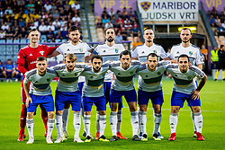 Team Chikhura during 2nd Leg football match between NK Maribor and FC Chikhura in 2nd Qualifying Round of UEFA Europa League 2018/19, on August 2, 2018 in Ljudski vrt, Maribor, Slovenia. Photo by Ziga Zupan / Sportida