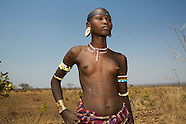 Tribes in the Omo valley in Ethiopia