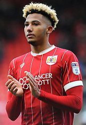 Lloyd Kelly of Bristol City thanks fans at the full time whistle  - Mandatory by-line: Nizaam Jones/JMP - 17/03/2018 - FOOTBALL - Ashton Gate Stadium- Bristol, England - Bristol City v Ipswich Town - Sky Bet Championship