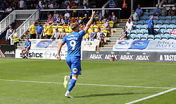 Matt Godden of Peterborough United celebrates after scoring the opening goal of the game - Mandatory by-line: Joe Dent/JMP - 04/08/2018 - FOOTBALL - ABAX Stadium - Peterborough, England - Peterborough United v Bristol Rovers - Sky Bet League One