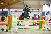 Tania van Leeuwen - Fedusa EB<br /> KNHS Indoorkampioenschappen<br /> © DigiShots
