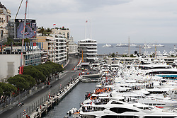 May 26, 2019 - Monte Carlo, Monaco - Motorsports: FIA Formula One World Championship 2019, Grand Prix of Monaco, ..#44 Lewis Hamilton (GBR, Mercedes AMG Petronas Motorsport), #77 Valtteri Bottas (FIN, Mercedes AMG Petronas Motorsport) (Credit Image: © Hoch Zwei via ZUMA Wire)