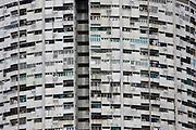 HDB appartment blocks in Chinatown.