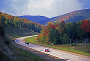 PA landscapes, scenic route 6, autumn foliage, PA