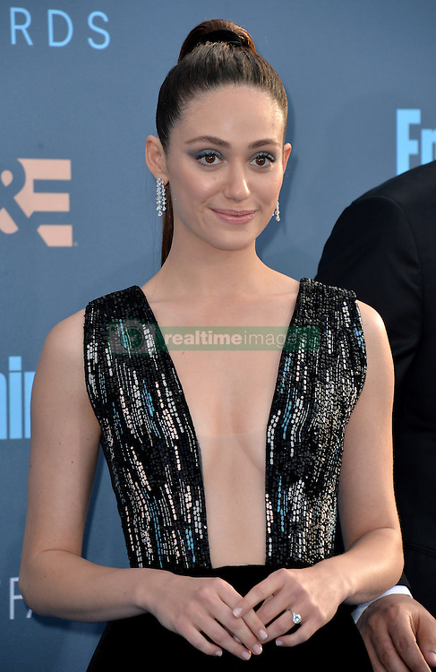 Emmy Rossum attends the 22nd Annual Critics' Choice Awards at Barker Hangar on December 11, 2016 in Santa Monica, Los Angeles, CA, USA. Photo By Lionel Hahn/ABACAPRESS.COM