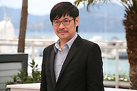 Actor Wai Ka-fai at the 'Blind Detective' photocall at the Cannes Film Festival Monday 20th May 2013
