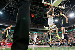 Rudy Fernandez #5 of Real Madrid during basketball match between KK Union Olimpija (SLO) and Real Madrid (ESP) in 5th Round of Regular season of Euroleague 2012/13 on November 9, 2012 in Arena Stozice, Ljubljana, Slovenia. (Photo By Urban Urbanc / Sportida)