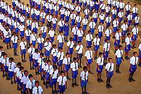 Sri Lanka, province de l'Uva, Haputale, école de Dambatenna tea factory près de Lipton's Seat // Sri Lanka, Ceylon, Central Province, Haputale, Dambatenna, Lipton's seat, shcool