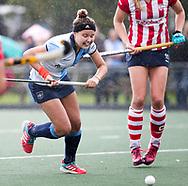 AMSTELVEEN -  Elke Boers (Hurley)  .Hoofdklasse competitie dames, Hurley-HDM (2-0) . FOTO KOEN SUYK