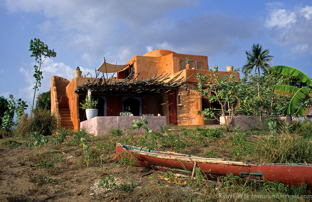 Caribbean, Jamaica, Treasure Beach. Jake's Boutique Resort.