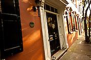 French quarter historic houses Charleston, SC.