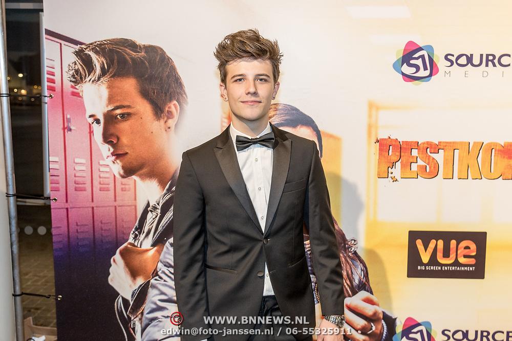 NLD/Hilversum/20171019 - Film premiere  Pestkop, Roan van Dam