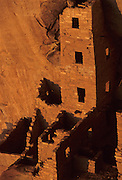 Native American, Cliff Dwellings, Square Tower House, Mesa Verde, Mesa Verde National Park, Colorado