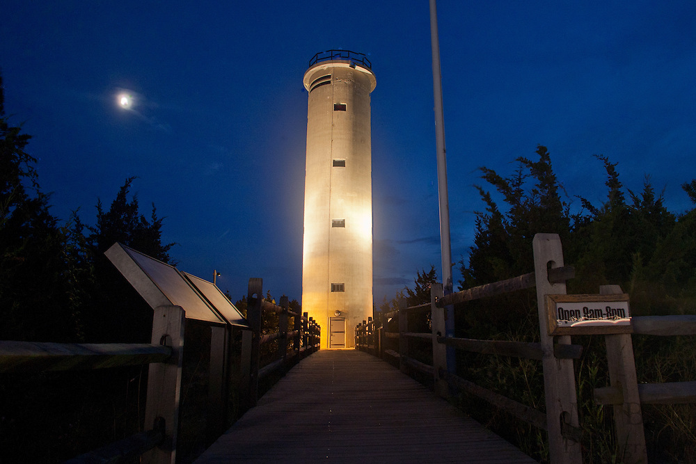 2011 August 6: World War 2 Lookout Tower - Cape May, NJ.