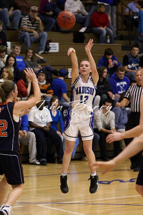 MCHS Varsity Girls Basketball .vs Orange .12/12/2008