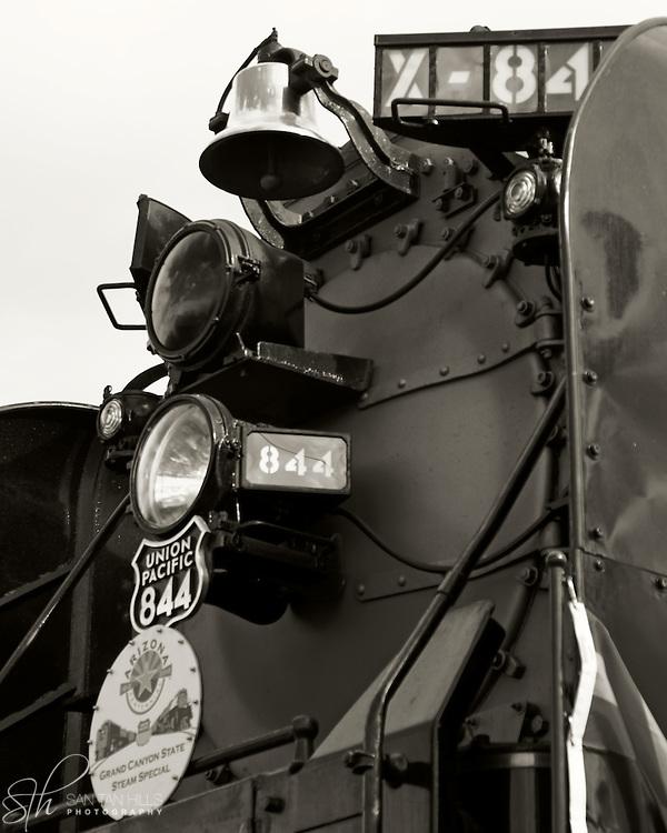 Union Pacific Steam Engine in Gilbert, AZ