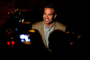George P. Bush speaks during his election party at Joe T. Garcias in Fort Worth, Texas on March 4, 2014. (Cooper Neill / for The Texas Tribune)
