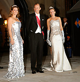 Gala dinner on the occasion of the civil wedding of Grand Duke Guillaume and Princess Stephanie