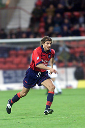 CLAUDIO CANIGGIA..DUNFERMLINE v DUNDEE.PIC : MICHAEL SCHOFIELD 07974 566874