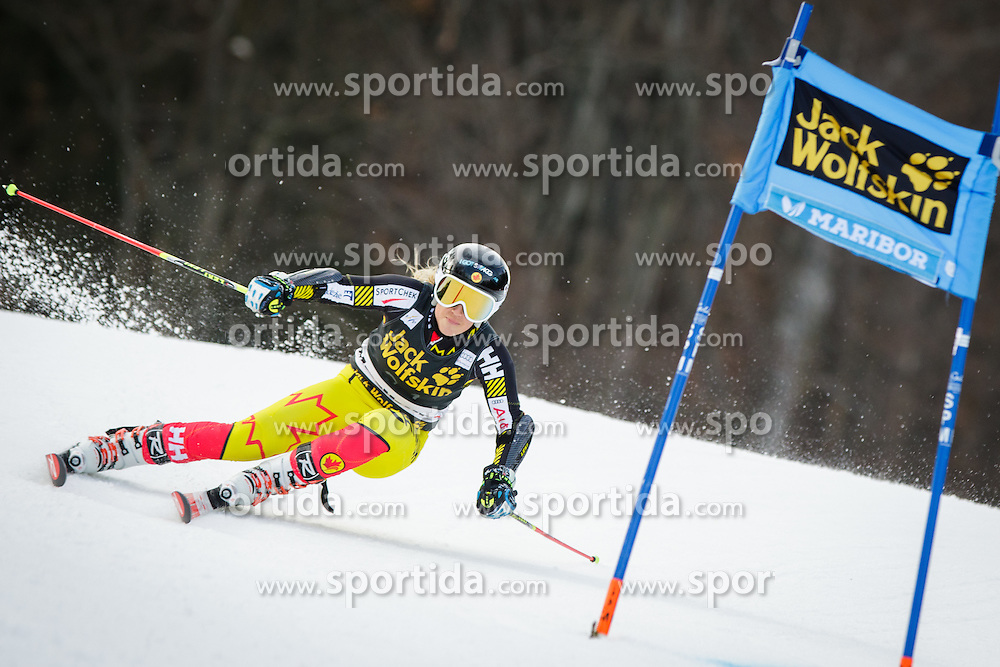 Marie-Pier Prefontaine (CAN) during 7th Ladies' Giant slalom at 52nd Golden Fox - Maribor of Audi FIS Ski World Cup 2015/16, on January 30, 2016 in Pohorje, Maribor, Slovenia. Photo by Ziga Zupan / Sportida