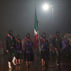 Oventic, EZLN, the 20th anniversary ceremony
