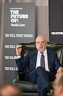 The Wall Street Journal The Future of: Healthcare breakfast event with Mark Bertolini, Chairman and CEO of Aetna, in New York City on February 15, 2017. (photo by Gabe Palacio)