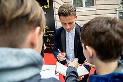 during SPINS XI Nogometna Gala 2019 event when presented best football players of Prva liga Telekom Slovenije in season 2018/19, on May 19, 2019 in Slovene National Theatre Opera and Ballet Ljubljana, Slovenia. Photo by Vid Ponikvar / Sportida