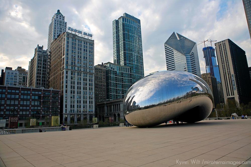 USA, Illinois, Chicago. Millenium Park.