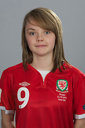 TREFOREST, WALES - Tuesday, February 14, 2011: Wales' Ellie Curson. (Pic by David Rawcliffe/Propaganda)
