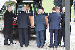 © Licensed to London News Pictures. 02/05/2014 Funeral of  Legendary Scottish Footballer Sandy Jardine took place at Mortonhall Crematorium today. Edinburgh, Scotland Photo credit : Duncan McGlynn/LNP