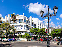 Luxury apartment building short distance from the promenade in Marbella, Malaga Province, Spain, 29th September 2016, 201609292801<br /><br />Copyright Image from Victor Patterson, 54 Dorchester Park, <br />Belfast, UK, BT9 6RJ<br /><br />t1: +44 28 9066 1296  (from Rep of Ireland 048 9066 1296)<br />t2: +44 28 9002 2446  (from Rep of Ireland 048 9002 2446)<br />m: +44 7802 353836<br /><br />e1: victorpatterson@me.com<br />e2: victorpatterson@gmail.com<br /><br />www.victorpatterson.com<br /><br />IMPORTANT: Please see my Terms and Conditions of Use at <br />www.victorpatterson.com<br /><br />It is IMPORTANT that you familiarise yourself with them. They are available on my website.<br /><br />Images used on the Internet must be visibly watermarked i.e. victorpatterson.com within the body of the image and copyright metadata must not be deleted. Images used on the Internet have a size restriction of 4kbs and are chargeable at the then current NUJ rates.