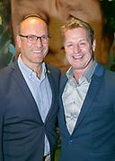 2017-10-30. Premiere van Harrie en Eva bij de Goudse Schouwburg in Gouda. Op de foto: Tony Neef met partner