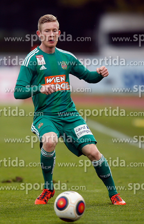 18.10.2015, Lavanttal Arena, Wolfsberg, AUT, 1. FBL, RZ Pellets WAC vs SK Rapid Wien, 12. Runde, im Bild v.l. Florian Kainz (SK Rapid Wien) // during the Austrian Football Bundesliga 12th Round match between RZ Pellets WAC and SK Rapid Wien at the Lavanttal Arena in Wolfsberg Austria on 2015/10/18, EXPA Pictures © 2015, PhotoCredit: EXPA/ Wolfgang Jannach