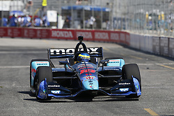 July 13, 2018 - Toronto, Ontario, Canada - SEBASTIEN BOURDAIS (18) of France takes to the track to practice for the Honda Indy Toronto at Streets of Exhibition Place in Toronto, Ontario. (Credit Image: © Justin R. Noe Asp Inc/ASP via ZUMA Wire)